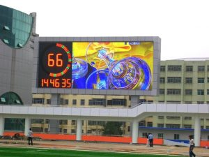 P10 outdoor energy-saving creative waterproof LED display, special PCB design LED display