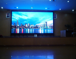 P3 indoor large stage background full color HD LED display
