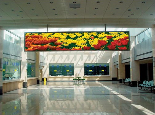 P18.75 full color fixed installation waterproof LED display IP65