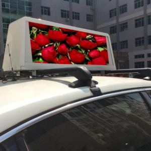 Taxi Roof Mobile LED Display