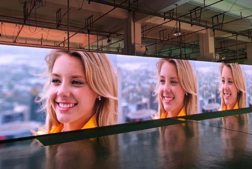 P10 full-color HD advertising weather-resistant front desk service LED display