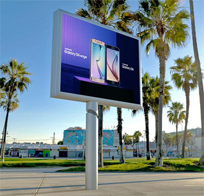 P8 Outdoor high quality full color SMD high resolution video advertising LED display for rental