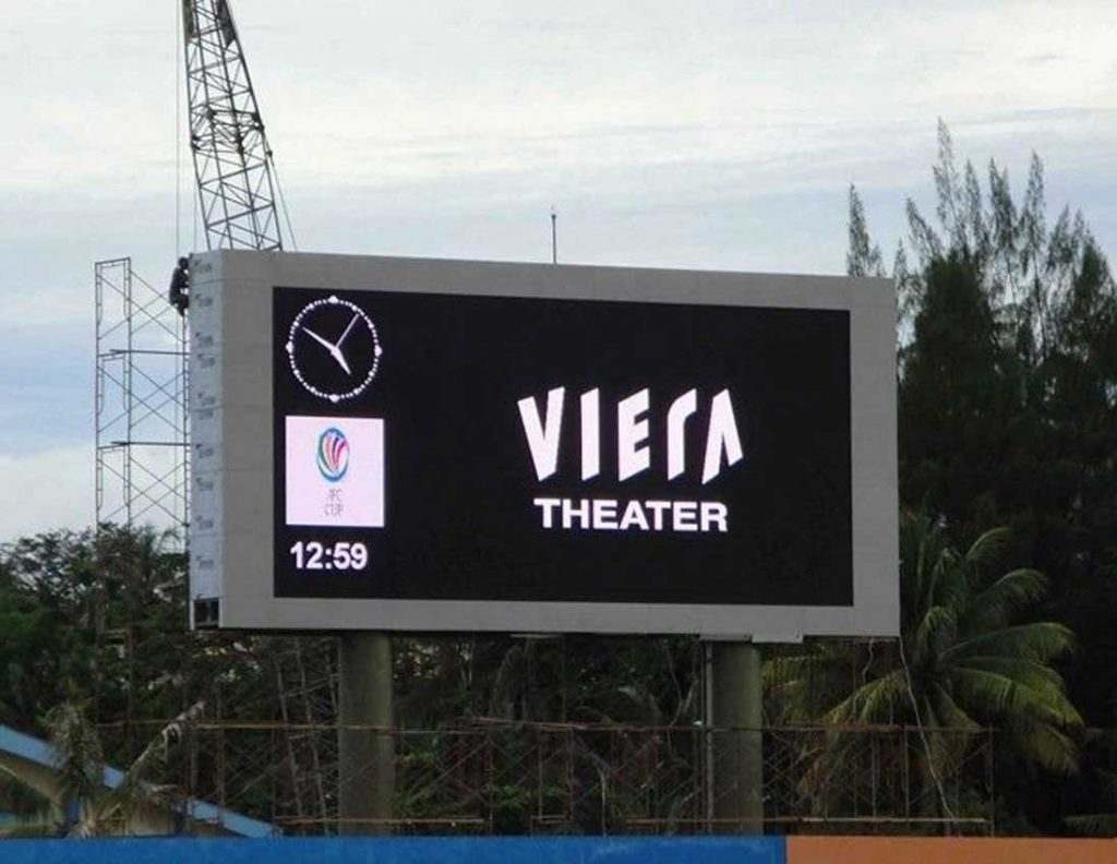 High brightness outdoor LED message board