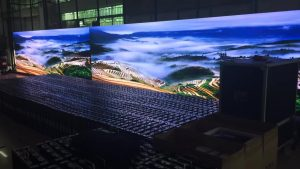 P8/P10 high brightness full-color front service LED video wall