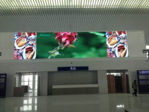 HD front service LED video screen